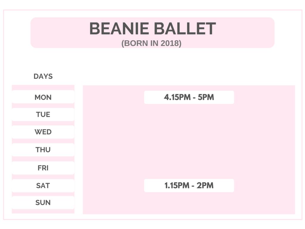 Beanie Ballet Class
